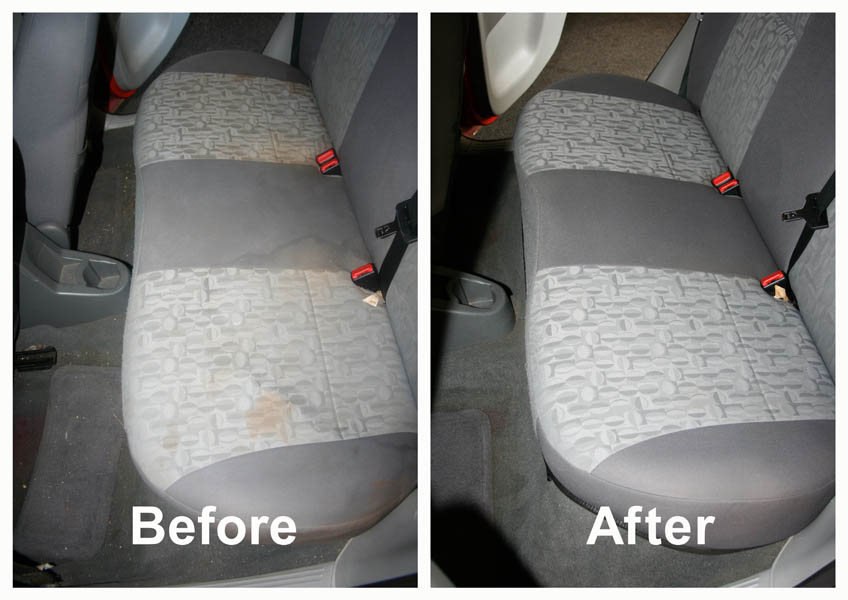 in cleanic thames kingston valet mobile shampoo cleaning upholstery interior upon car